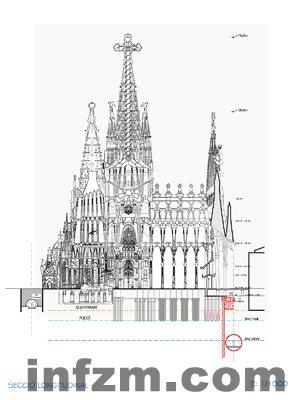 简单教堂设计图