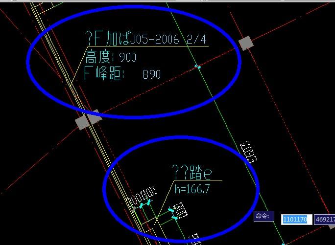 请问CAD乱码后字体的图纸代表打开v乱码LI后中文件图纸360N钢筋什么图片