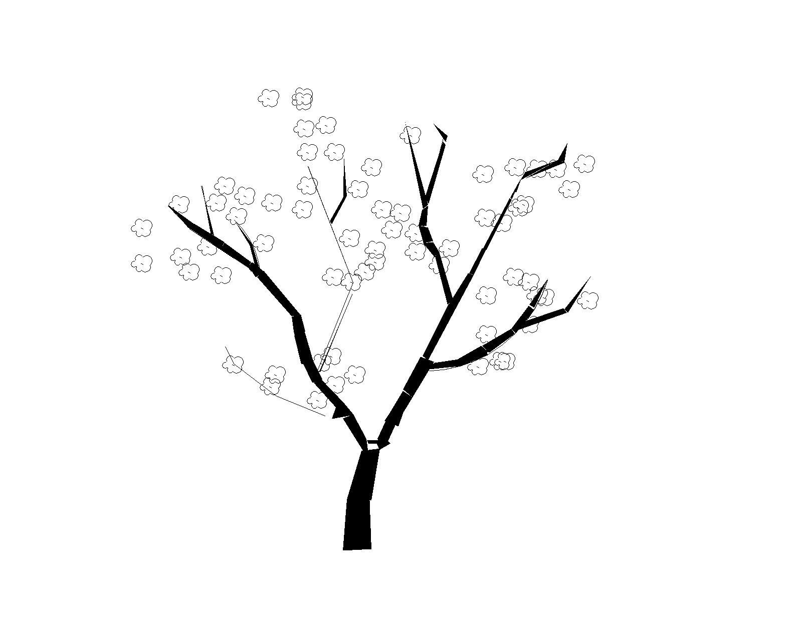 电脑树状结构桌面