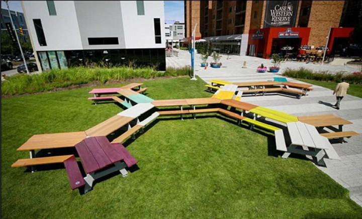 【景观素材】创意景观坐凳