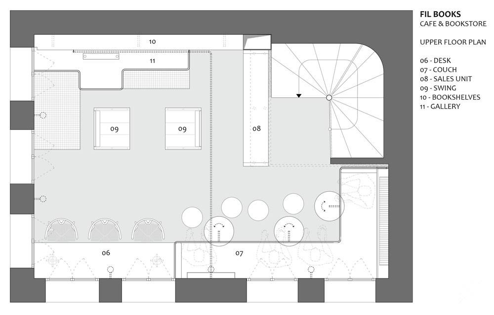 我们享受设计并申请费尔书店作为我们喝咖啡和选书的地方.图片