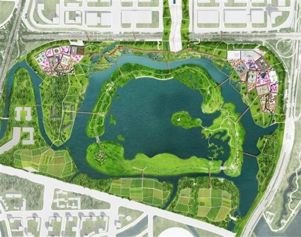 广州文化设施设计国际竞赛方案(一馆一园)  城市规划图片