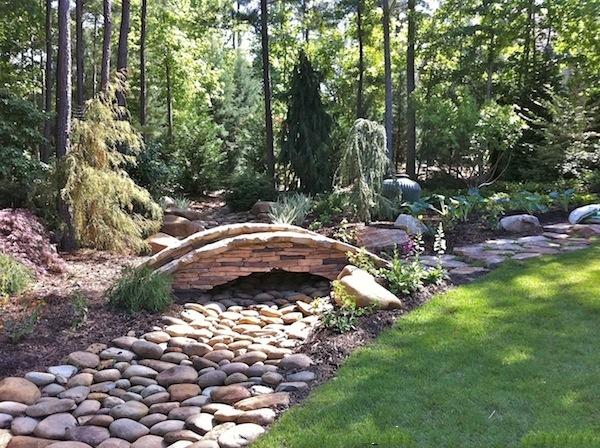 问答平台 园林 规划设计 园林小品 【景观意向】虽无水胜有水,有种