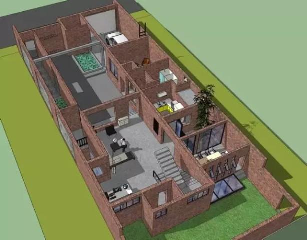 一个业余建筑爱好者的农村自建房设计