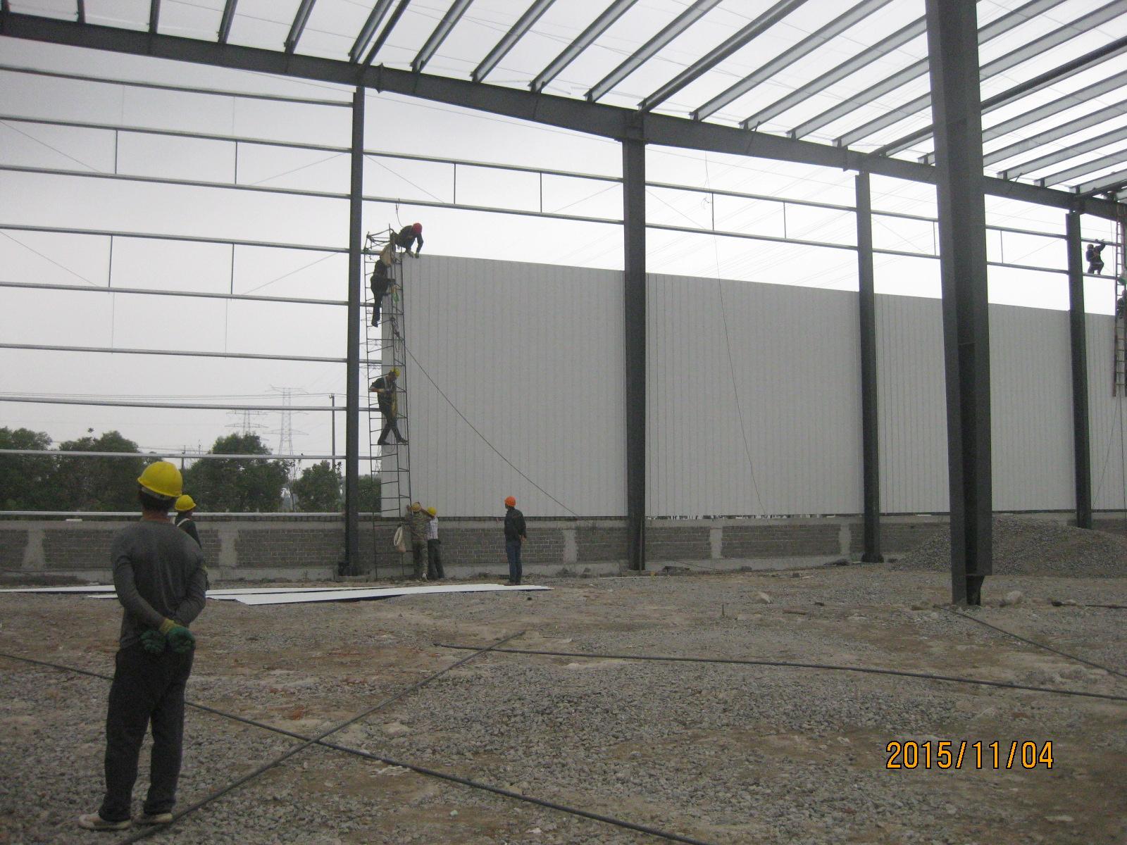 每日一问:钢结构仓库内墙板验收?