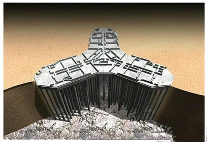 ?BG???_施工由德国宝峨完成,钻机是bg40旋挖钻机和bg28(bg40)