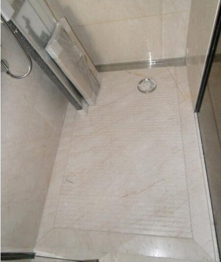 卫生洁具验收_【现场照片】卫生间淋浴房 地漏排水施工技术? |装饰装修施工 ...