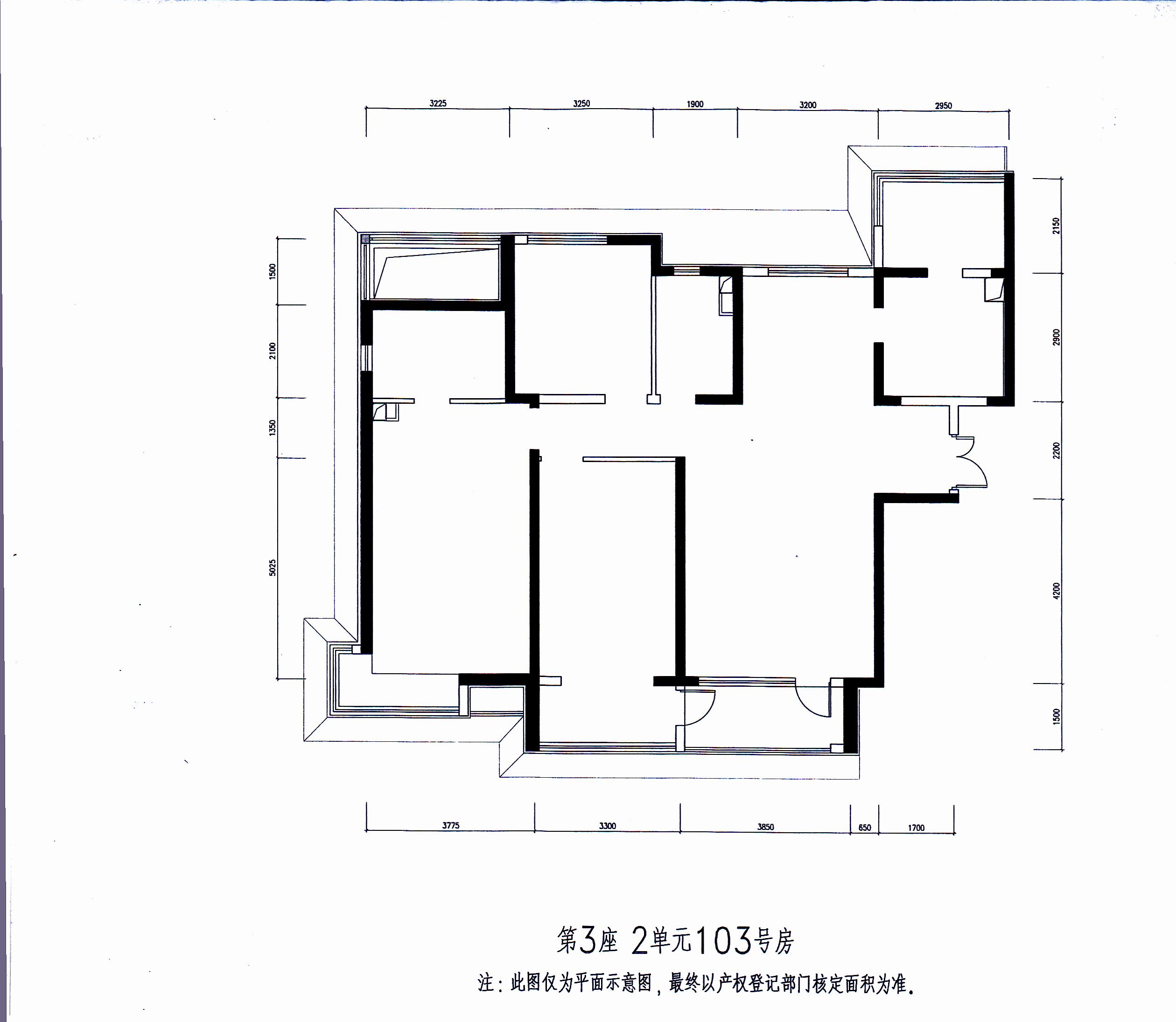 三室两厅两卫一厨室内设计图? |新房装修|天工问答