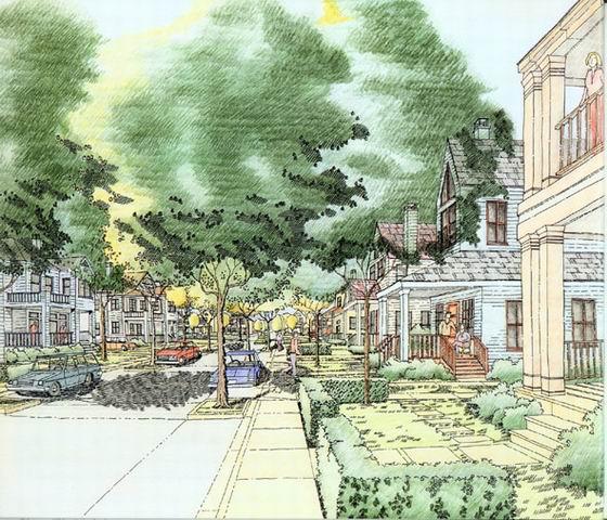 彩铅手绘作品 |风水和建筑历史|天工讨论投票