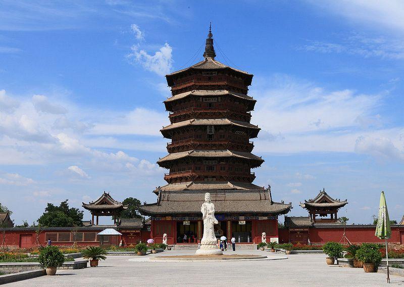 应县木塔的结构