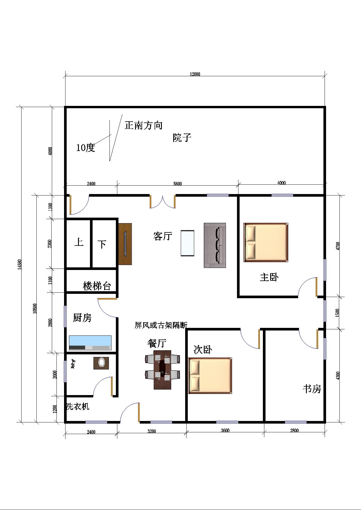三层别墅全套设计图_别墅设计图纸_农村自建房设计