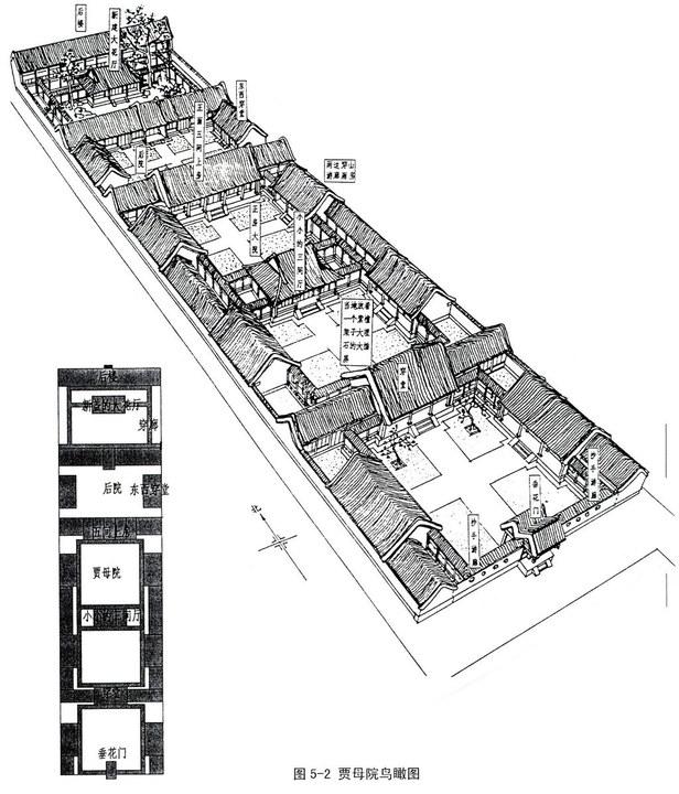 欣赏:红楼梦建筑手绘图 |居住社区|讨论平台