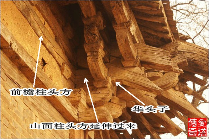 问答平台 建筑 知识探讨 做法构造 木结构建筑扫盲 各建筑构件解析