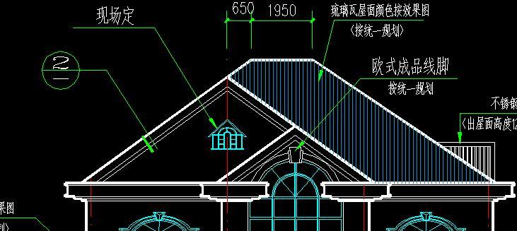 屋面可以改为檐沟形式的坡屋面.如下形式