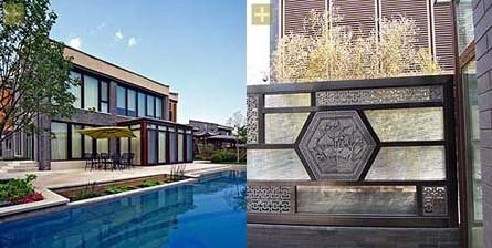 新中式的庭院设计?