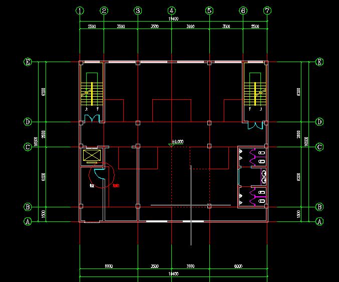 农村建房框架结构