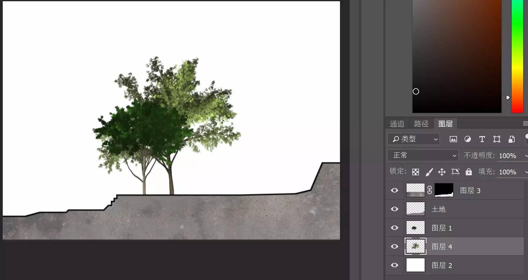 【文本】小清新景观分析图的绘制?