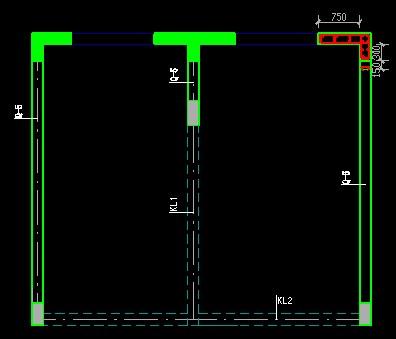 在高层剪力墙结构中,框架梁的水平锚固长度不满足0