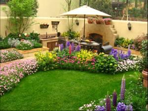 凉风有漪 2011-05-26 00:00 建议别墅面积小做花境多用些宿根花卉再图片